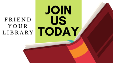 Join your friends of the library group.