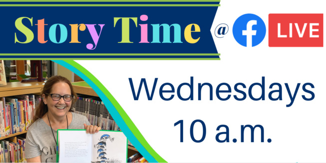 Story Time Wednesdays at 10 a.m.