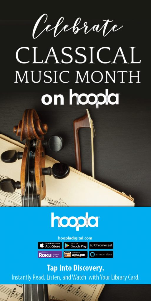 hoopla classical music month.
