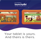Your tablet is yours. And theirs is theirs. - Borrow a Launchpad today!