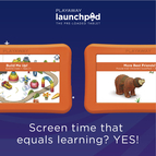 Screen time that equals learning? YES! - Borrow a Launchpad today!