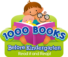 1000 Books Before Kindergarten. Read it and Reap!