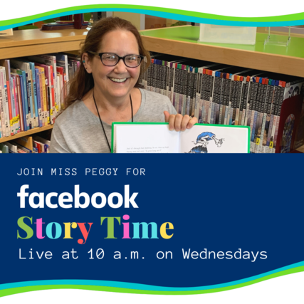 Story Time on Facebook: Live at 10 a.m. Wednesday