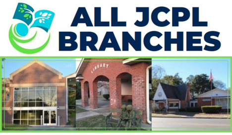 ALL JCPL BRANCHES, JCPL logo and images of all 3 locations